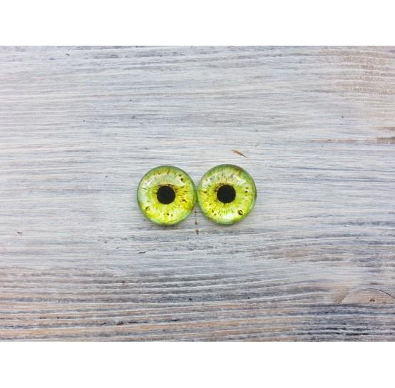 Glass eyes Green 1, ~ Ø 2 cm