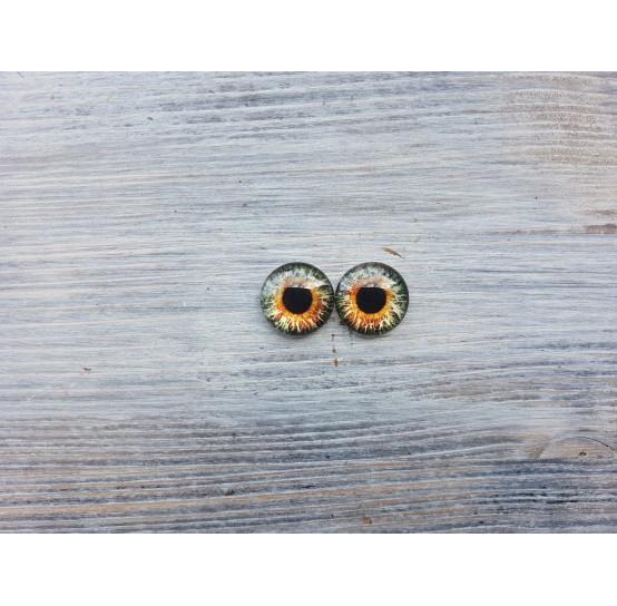 Glass eyes B2, ~ Ø 1.6 cm