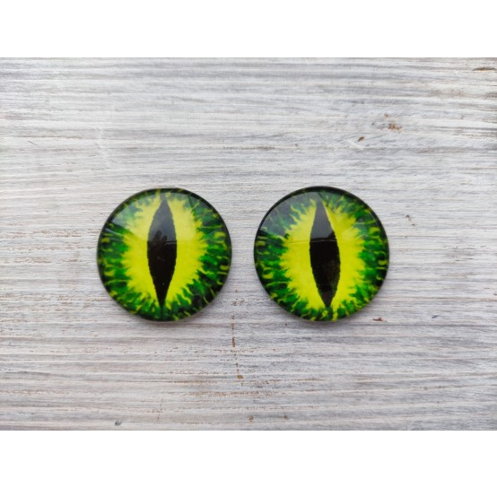 Glass eyes ZA3, ~ Ø 3 cm