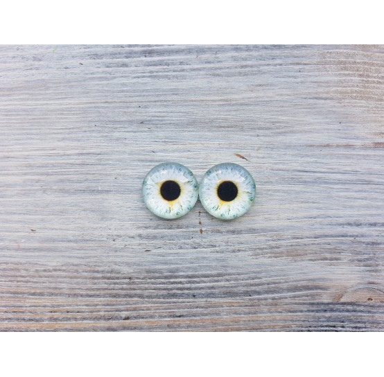 Glass eyes Z1, ~ Ø 1.8 cm