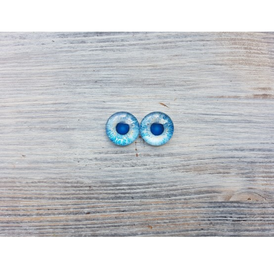 Glass eyes Z2, ~ Ø 1.8 cm