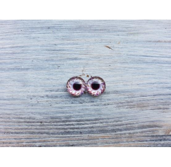 Glass eyes V1, ~ Ø 1 cm