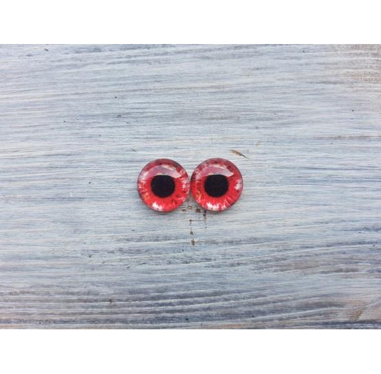 Glass eyes S1, ~ Ø 1.4 cm