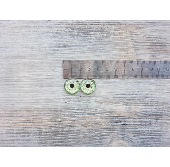 Glass eyes ZA2, ~ Ø 1.8 cm