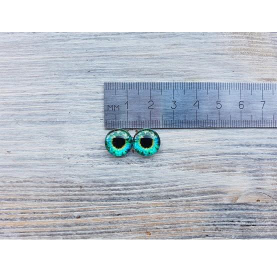 Glass eyes ZA4, ~ Ø 1.2 cm