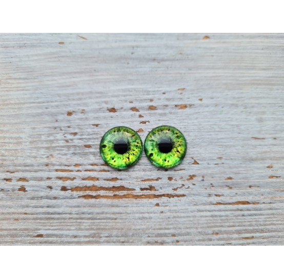 Glass eyes ZA1, ~ Ø 1.2 cm
