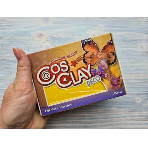 CosClay Deco Yellow, 453 g (1 lb)