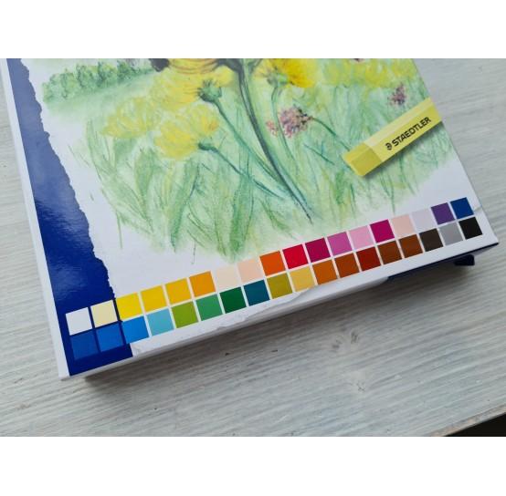 Set of soft pastels chalks, 36 colours, Staedtler