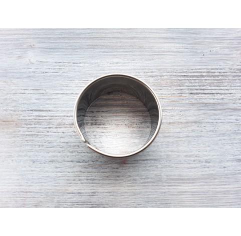 Metal cutter Circle, Ø 4 cm
