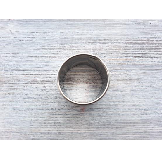 Metal cutter Circle, Ø 3 cm