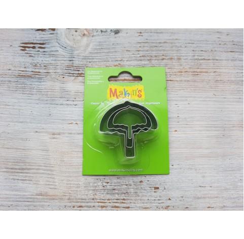 Set of metal cutters Makins, umbrella, 3 pcs., 2.5*2.5 cm, 3*3.2 cm, 4.5*4.3 cm