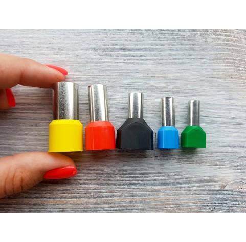 "Set of metal cutters ""Rounds"" , 5 pcs., Ø 6.5 mm-1.4 cm"