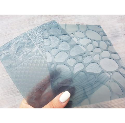 Sculpey flexible texture sheets, Nature, 7 motifs