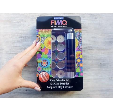 Clay extruder set, Fimo Professional, Staedtler