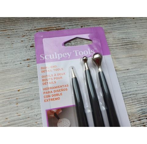 Sculpey Dual End Detail Tools, 3 pcs.