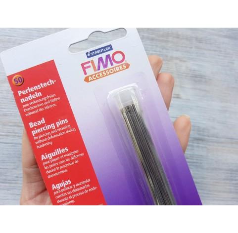 Bead piercing pins FIMO, 0.8-1.7 mm, 50 pcs.
