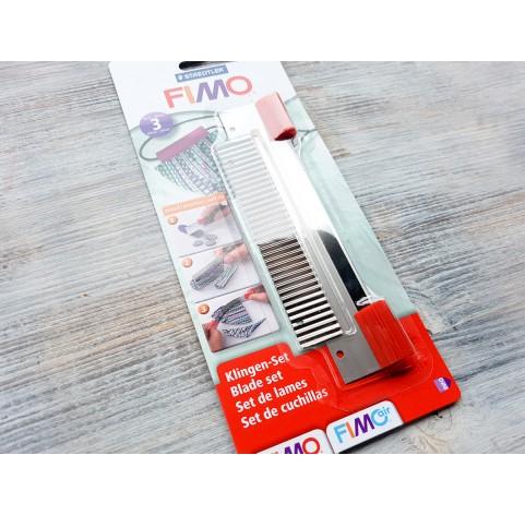 Fimo Staedtler blade set, 3 pcs., No.870004
