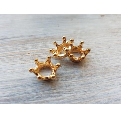Crown, gold, 3 pcs.