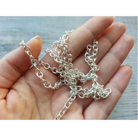 Chain 0.6*0.4 cm, 1 m