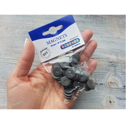 Set of magnets, 15 mm, 36 pcs.