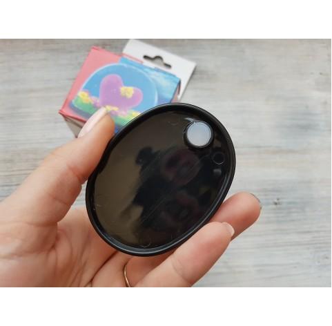 Fimo empty snow globe, small, 70*52 mm
