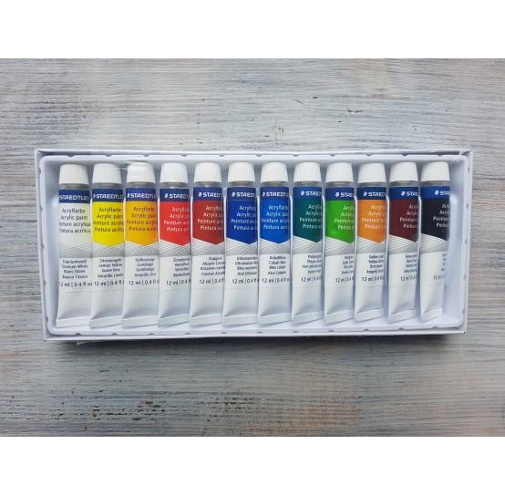 "Staedtler acrylic paint ""Design Journey"" set, 12*12 ml"