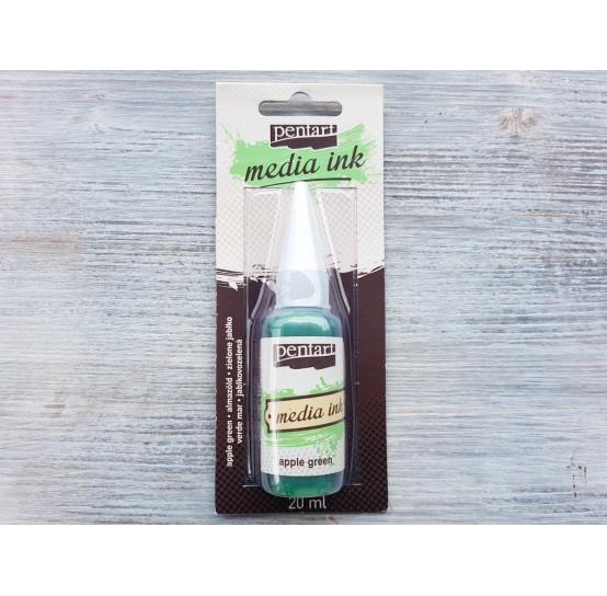 PENTART alcohol-based ink, apple green, 20 ml, No. 21036