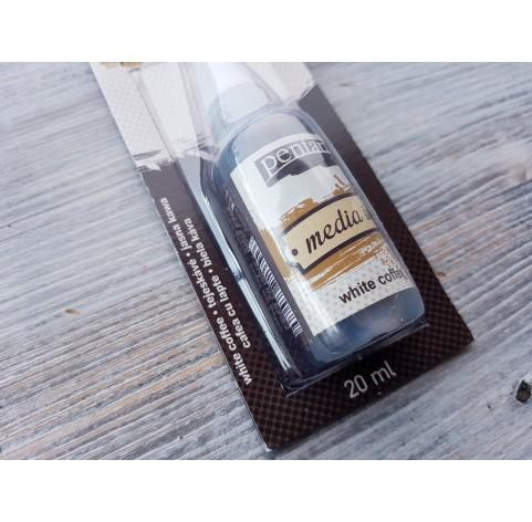 PENTART alcohol-based ink, white coffee, 20 ml, No. 21028