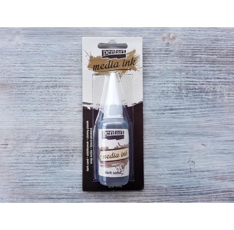 PENTART alcohol-based ink, dark sand, 20 ml, No. 21029
