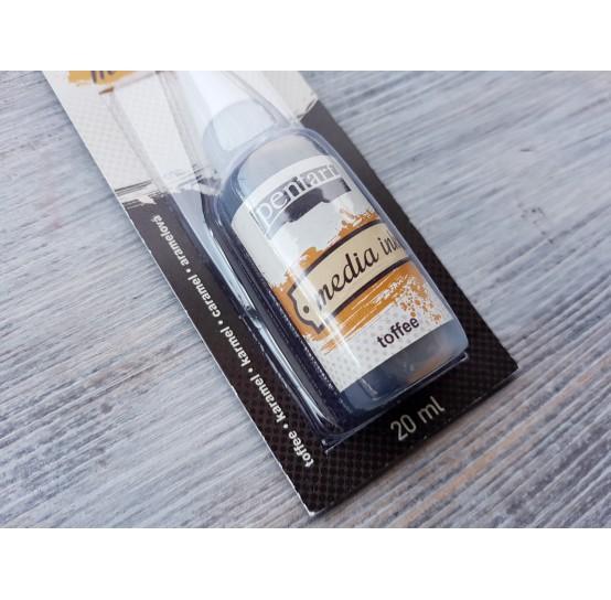 PENTART alcohol-based ink, toffee, 20 ml, No. 21027