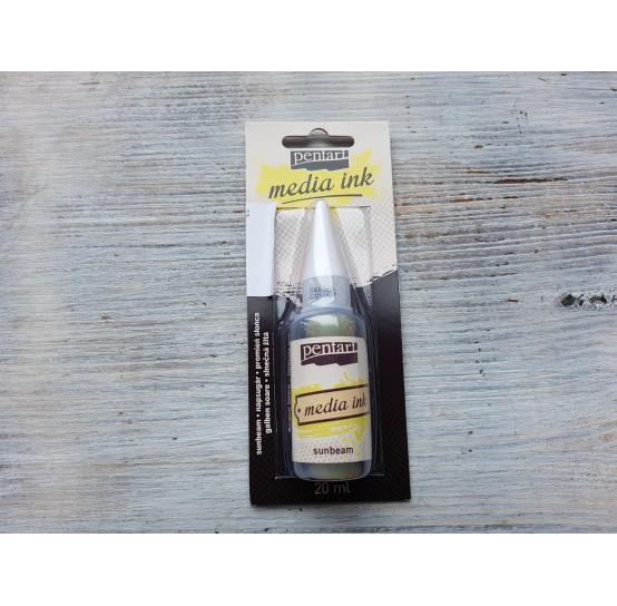 PENTART alcohol-based ink, sunbeam, 20 ml, No. 21007