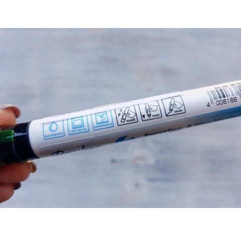 Felt pen/marker for porcelain and glass, black, for lines 1 mm