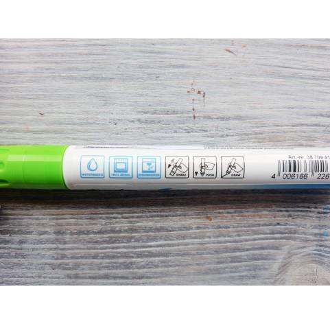 Felt pen/marker for porcelain and glass, light green, for lines 1-2 mm