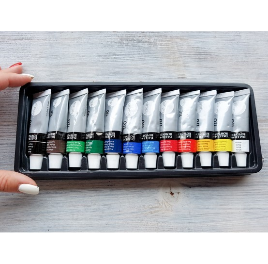 "DALER ROWNEY oil paint set ""Simply oil"", 12*12 ml"
