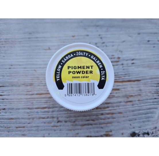 PENTART pigment powder Neon Yellow, 6 g
