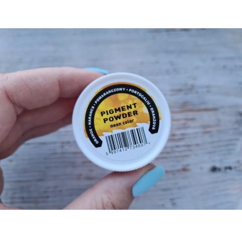 PENTART pigment powder Neon Orange, 6 g
