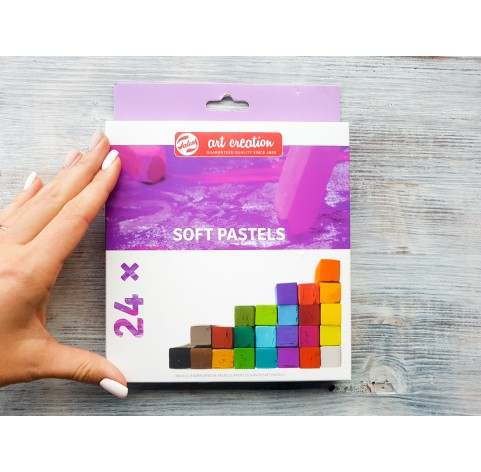 Soft pastels 24 colours, Royal Talens, Art Creation