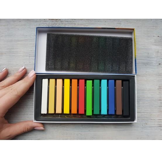 Set of soft pastels chalks Mungyo, 12 colours