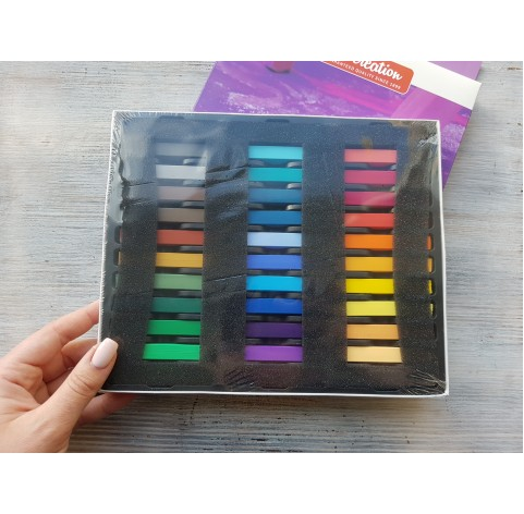 Soft pastels 36 colours, Royal Talens, Art Creation