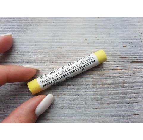 Soft / dry art pastel, yellow, No. 5