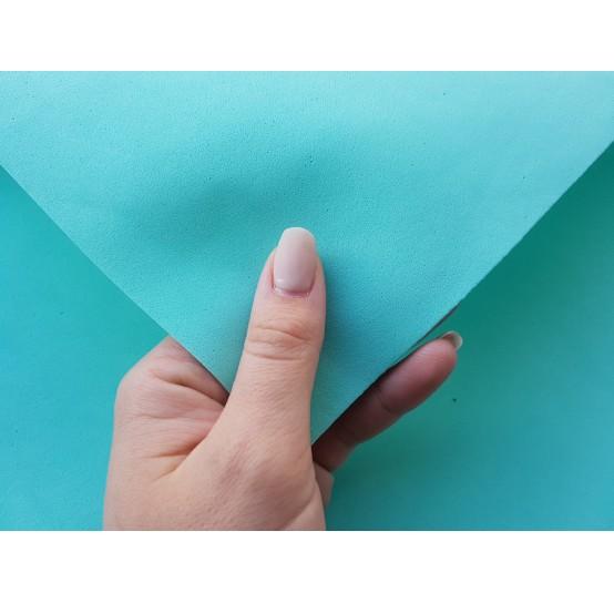 Foamiran sheet, foam rubber, Tiffany Chiaro, 1 mm, 60*40 cm