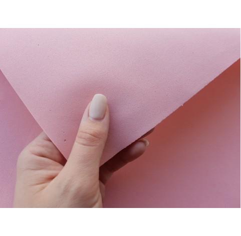 Foamiran sheet, foam rubber, Rosa Pesca, 1 mm, 60*40 cm