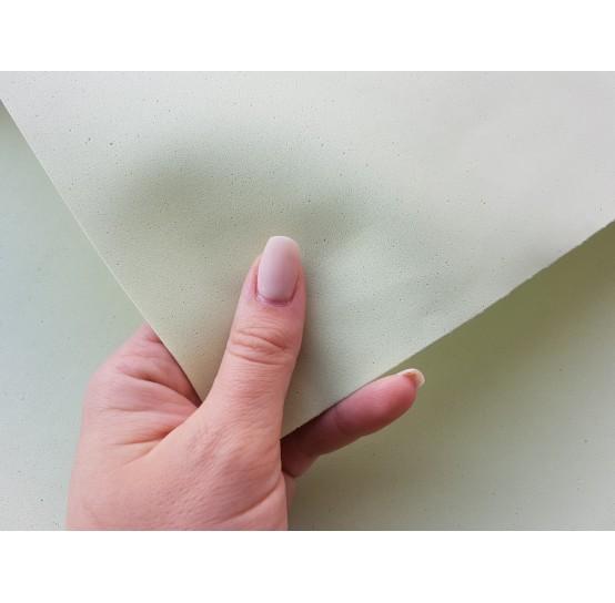 Foamiran sheet, foam rubber, Verde Salvia, 1 mm, 60*40 cm