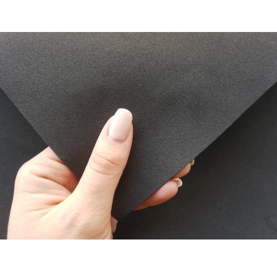 Foamiran sheet, foam rubber, Nero, 1 mm, 60*40 cm