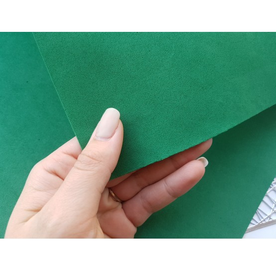 Foamiran sheet, foam rubber, Verde Scuro, 1 mm, 60*40 cm