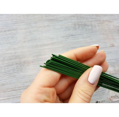Floristic cut wire, green, Ø 1.1 mm, 40 cm, pack ~ 35 pcs., 100 g