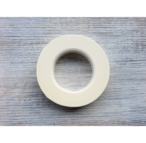 Floral tape, white, 13 mm*27 m