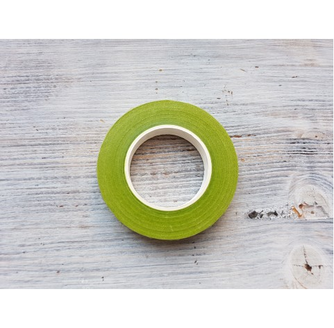 Floral tape, light green, 13 mm*27 m