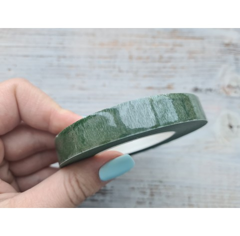 Floral tape, dark green, 13 mm*27.4 m