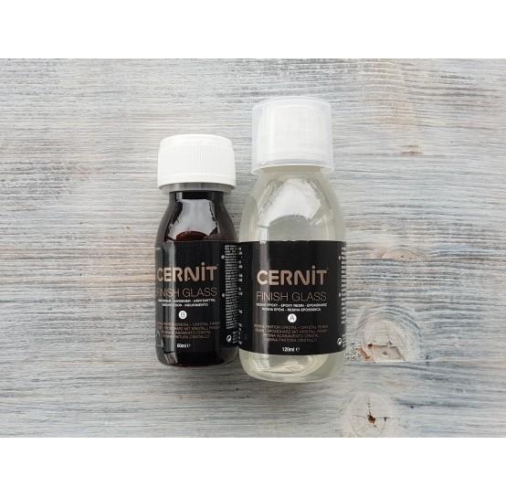 Cernit, Two-component finish varnish, 120 ml, 60 ml